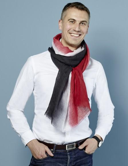 Chèche homme tie and dye, tendance
