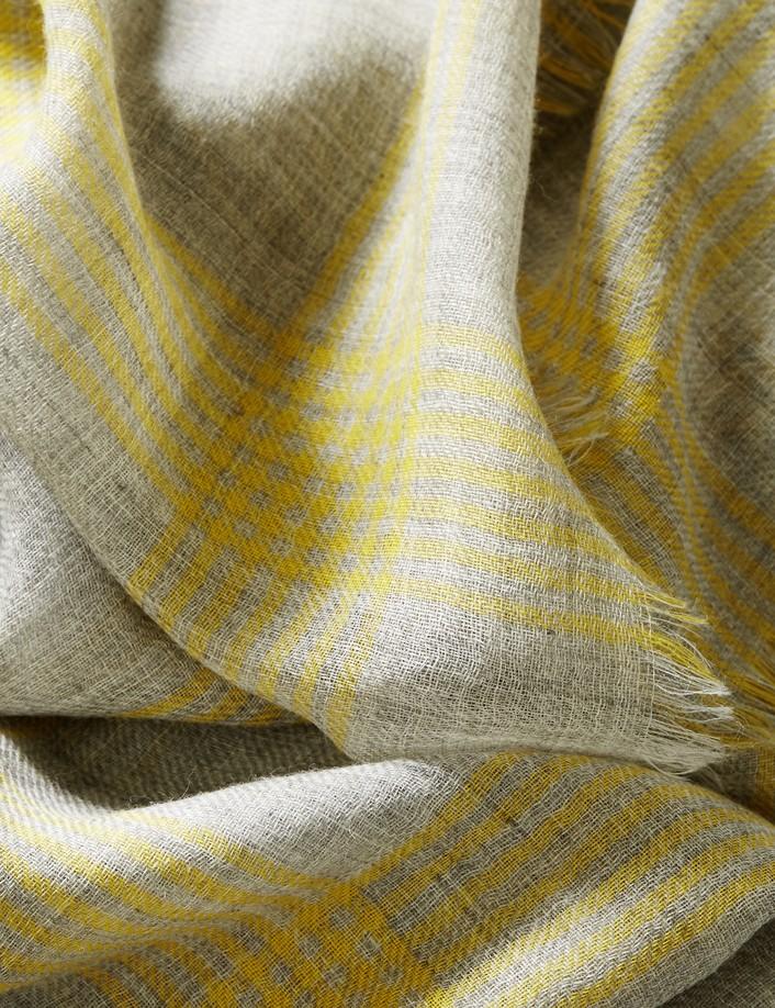 écharpe laine douce