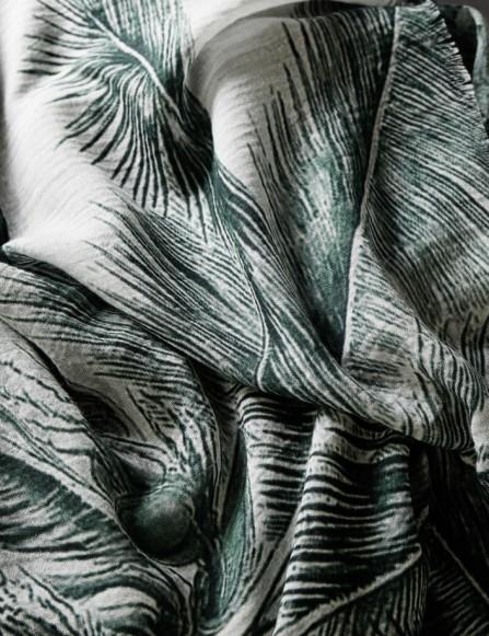 foulard homme coton bio