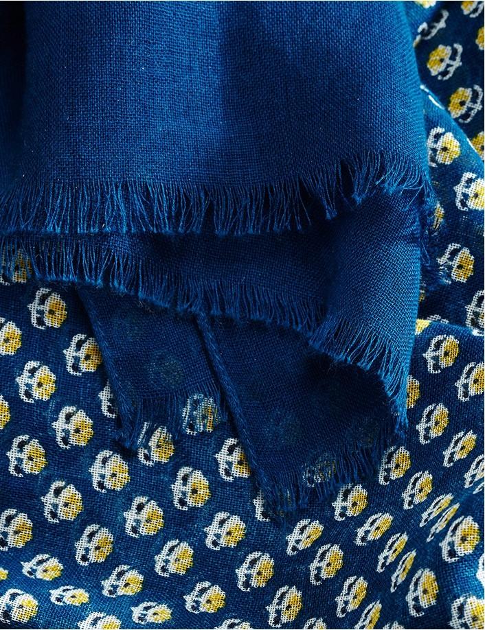 Foulard homme coton bio doux et léger