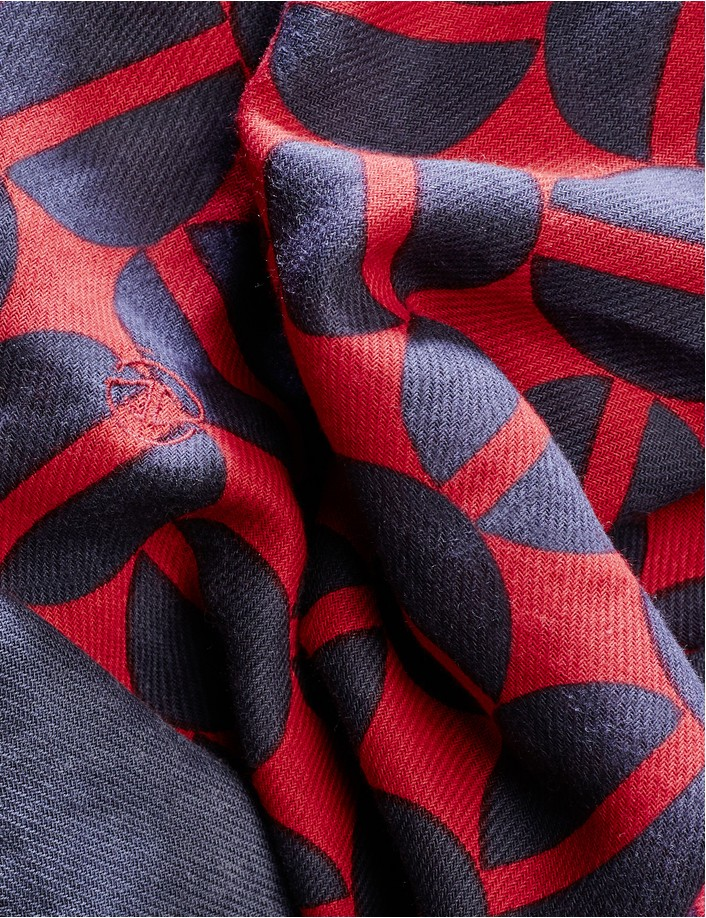 foulard de marque homme coton bio