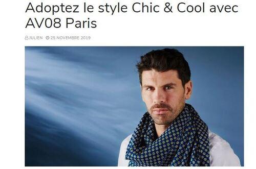 Photo Adoptez le style chic et cool avec AV08